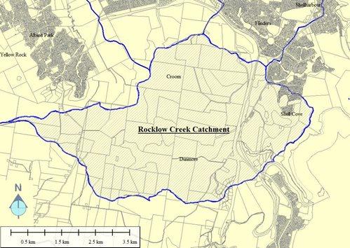 Rocklow Creek Catchment Area