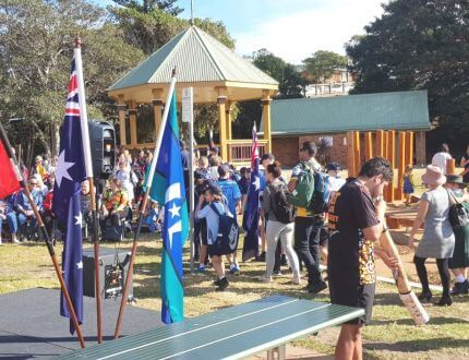 Reconciliation School Flag Walk