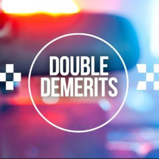 Double demerits are in force Thursday 18 to Monday 22 April inclusive. This Easter holiday period, you'll face double the points if you are caught speeding, using a mobile phone illegally, or not wearing a seat belt or motorcycle helmet. #doubledemerits #roadsafety #holidays #easter #drivesafely #safe